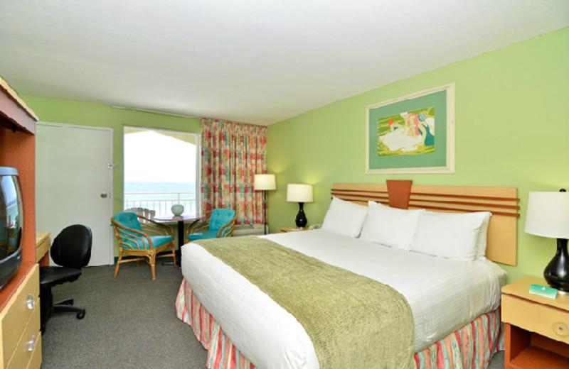 Guest room at Best Western Fort Walton Beachfront Hotel.