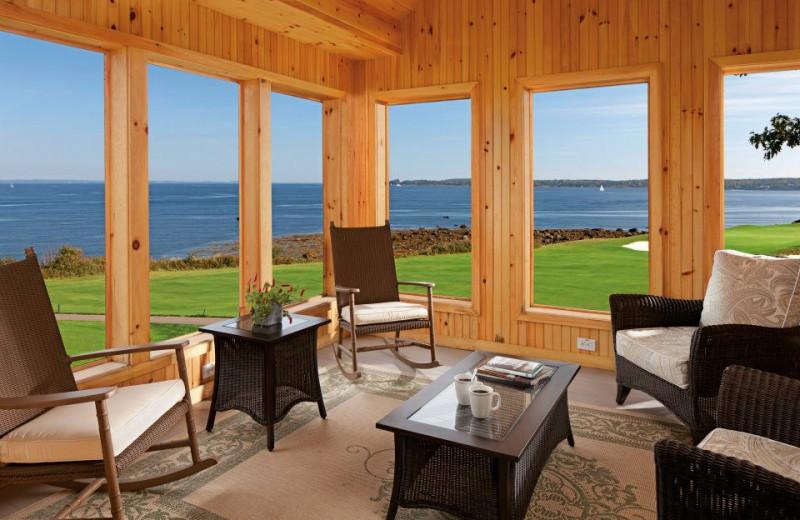 Cottage Interior at The Samoset Resort