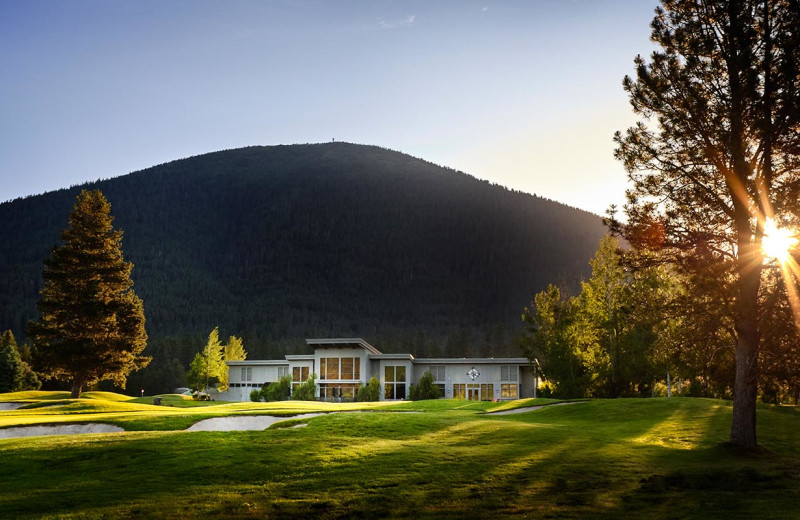 Golf club at Black Butte Ranch.