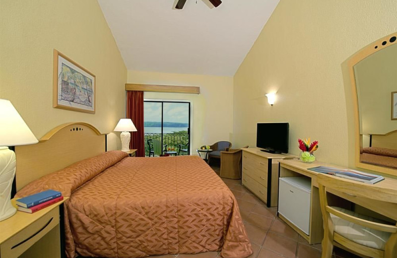 Guest room at Allegro Resort Papagayo Hotel.