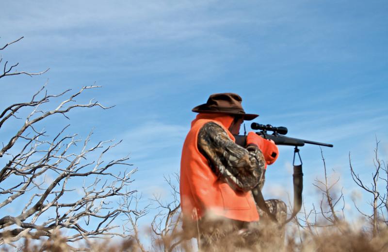 Hunting at Hotchkiss Inn.