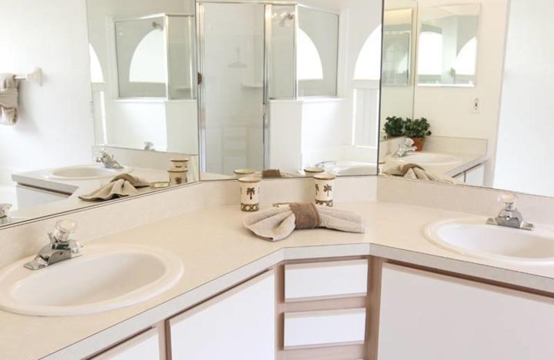 Bathroom at Advantage Vacation Homes