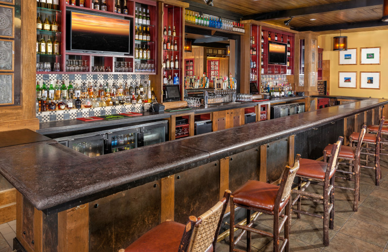 Bar at Bear Creek Mountain Resort.