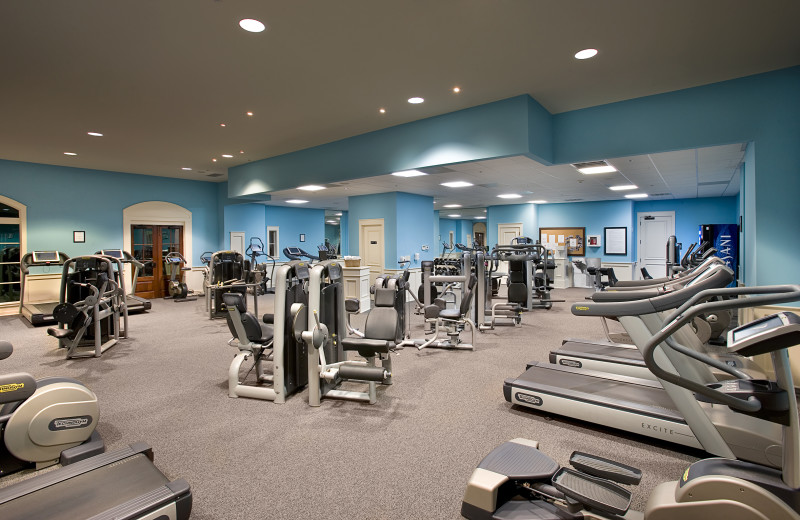 Fitness center at North Beach Plantation.