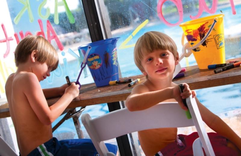Kid's activities at The Breakers Resort.
