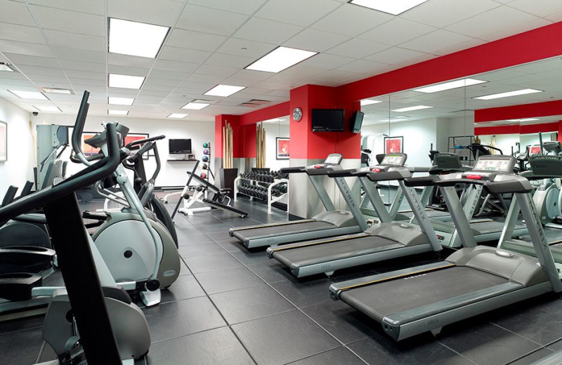 Fitness room at Club Quarters - Central Loop.