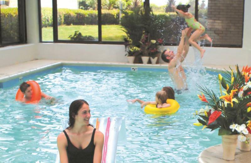Indoor pool at Carolina Winds.