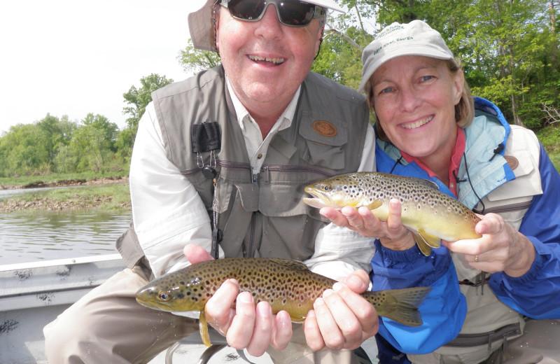 Fishing at The White River Inn.