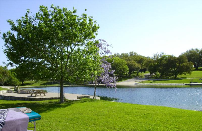 Beautiful Lake View at Stablewood Springs Resort