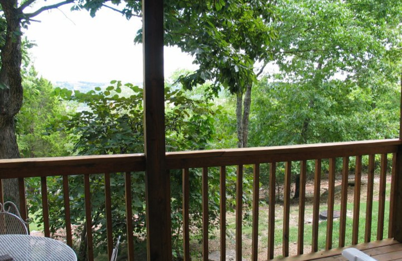 Balcony view at The Village At Indian Point.