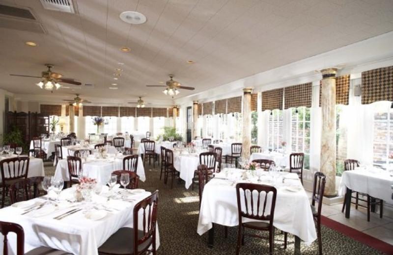 Dining at The Fairview Inn & Restaurant.
