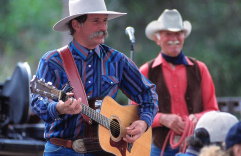 Live music at Alisal Guest Ranch and Resort.