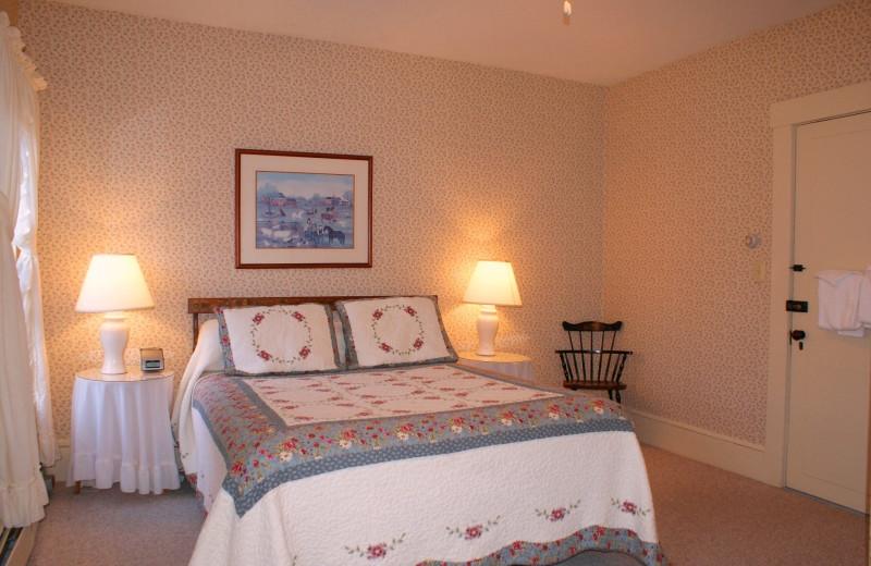 Guest room at Echo Lake Inn.