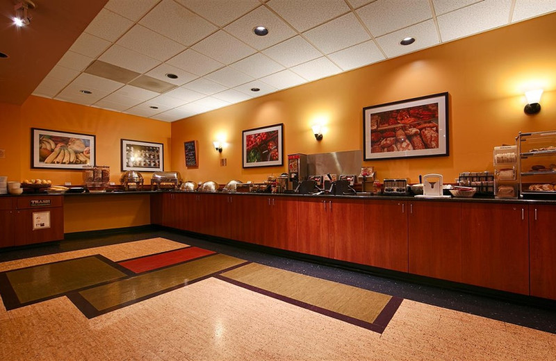 Breakfast at Best Western Executive Inn Seattle Downtown.