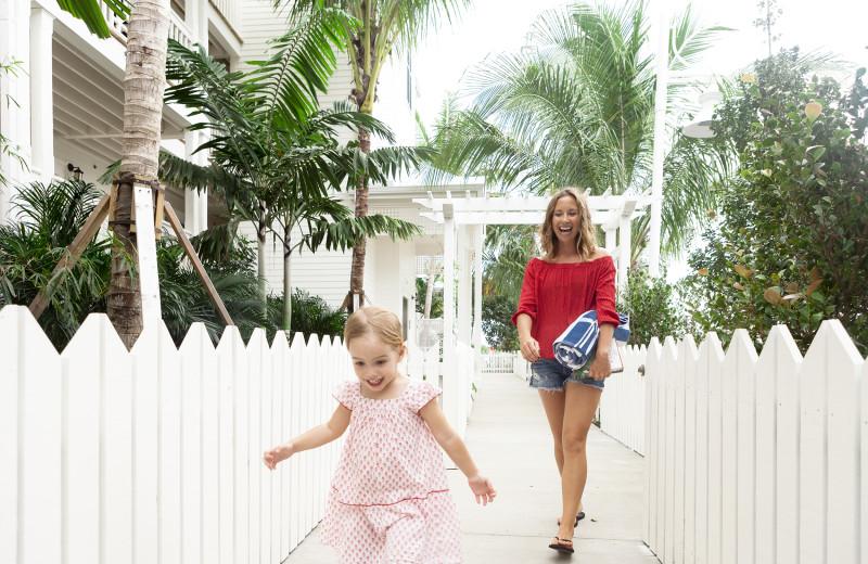 Family at Oceans Edge Key West Resort & Marina.
