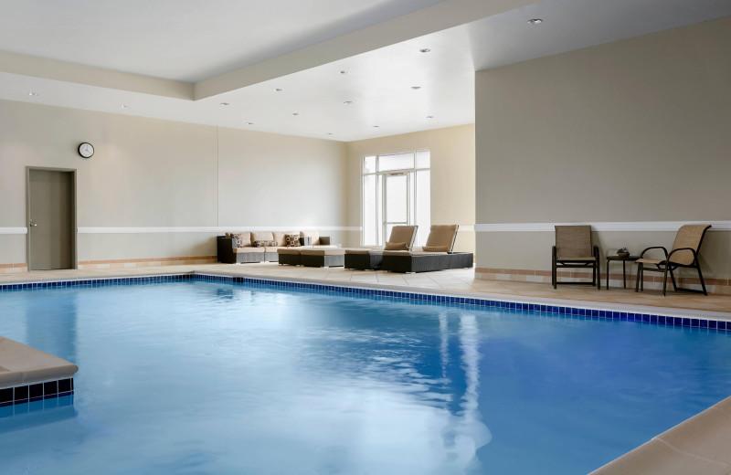 Indoor pool at Bridgewater Marriott.