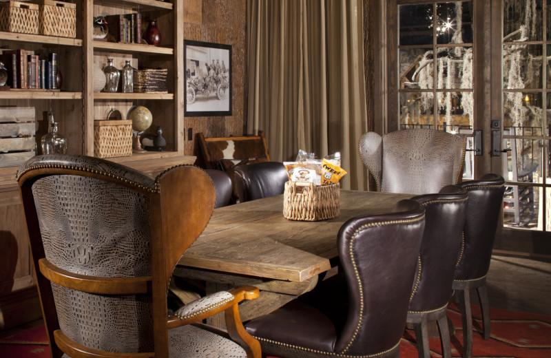 Guest suite at Big Cypress Lodge.