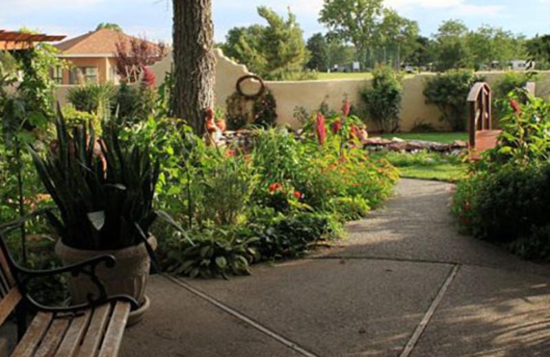 Garden view at Inn at Paradise.