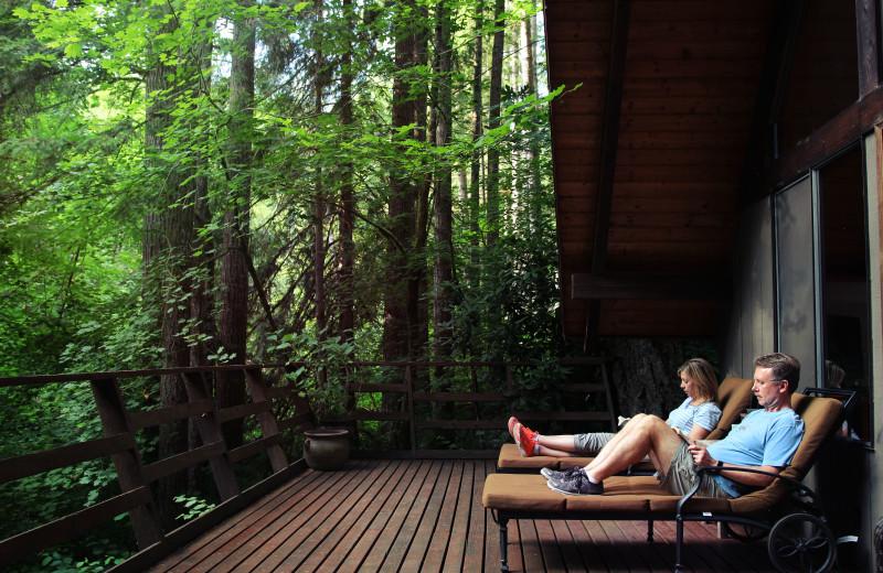 Couple at Zen River Retreat.