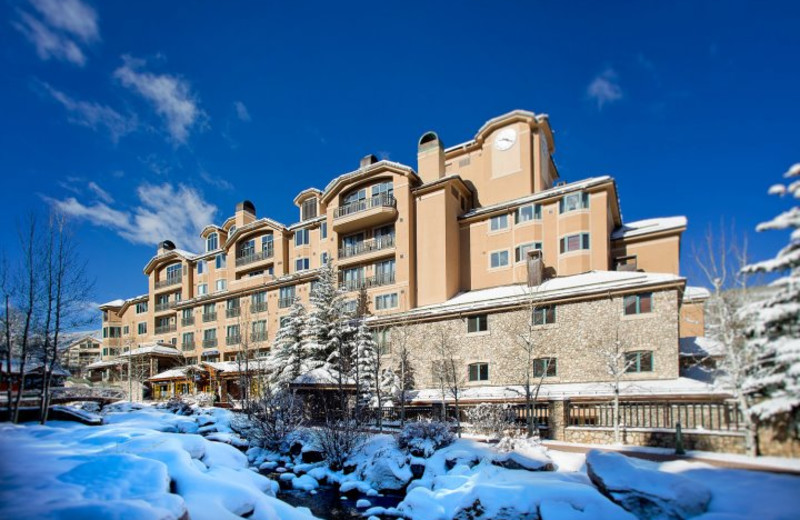 Exterior view of Beaver Creek Lodge.