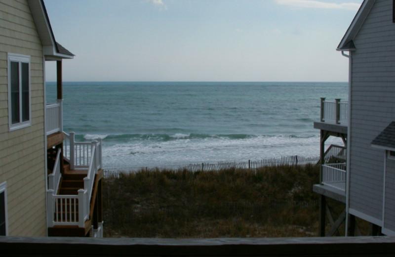 Beach view at Island Real Estate. Inc.