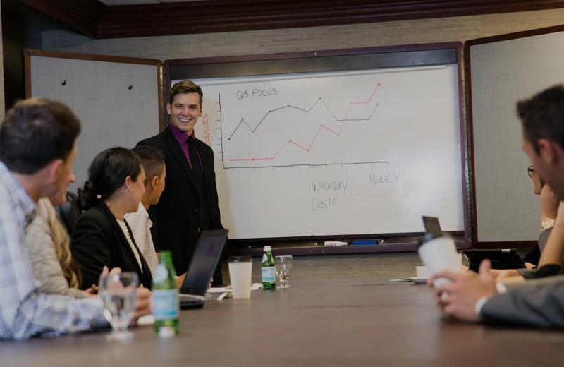Meetings at The Ridge Hotel.