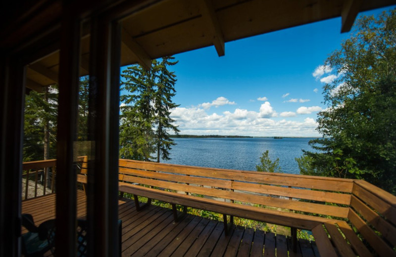 View from Snyder's Idlewild Resort.
