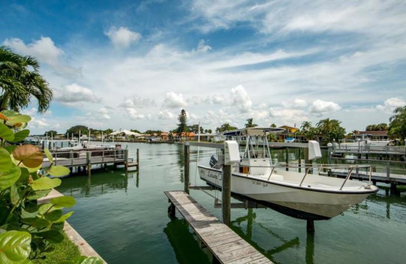 Rental docks at Belloise Realty.