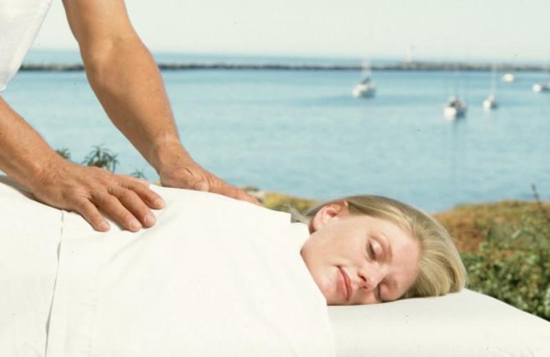 Massage at Beach House Half Moon Bay.