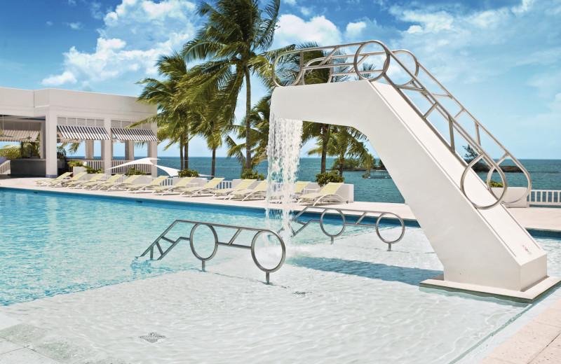 Outdoor pool at Couples Ocho Rios.