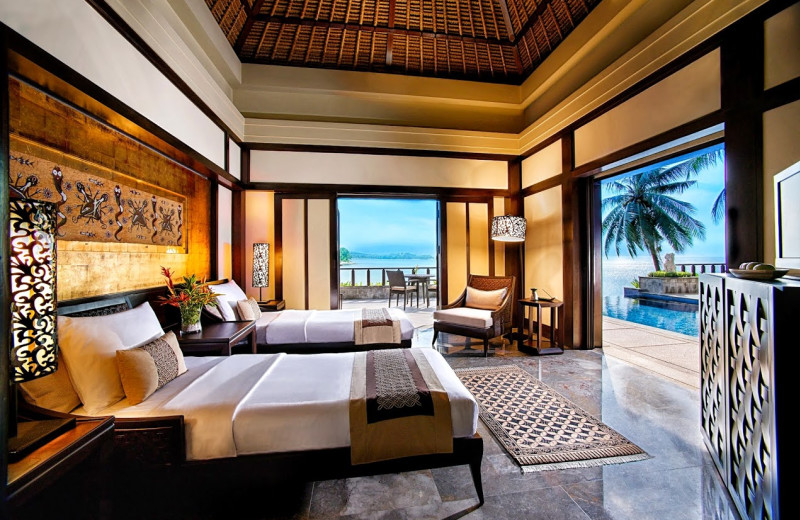 Guest room at Banyan Tree Bintan.
