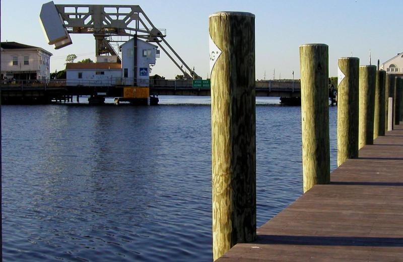 Dock near Whaler's Inn.