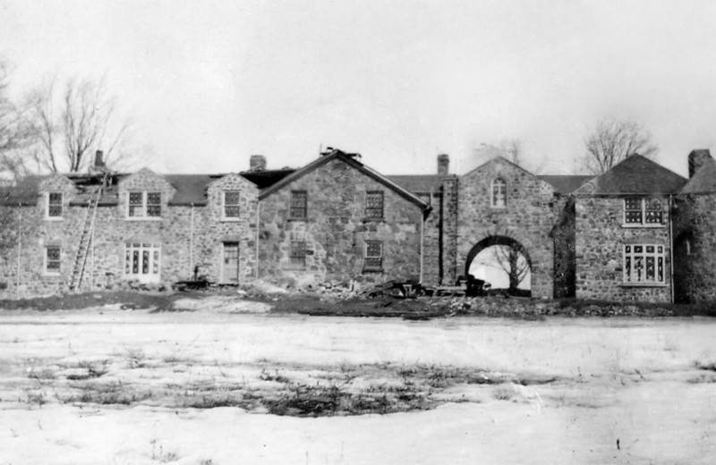 Historic photo of Ste. Anne's Spa.