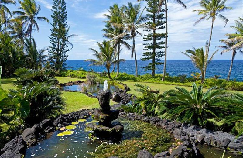 Vacation rental view at Big Island Vacation Rentals.