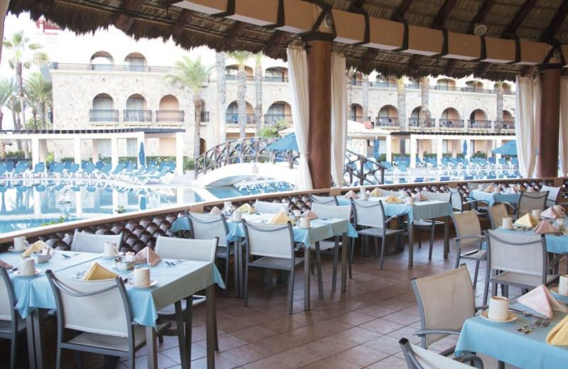 Patio at Royal Solaris - Los Cabos.