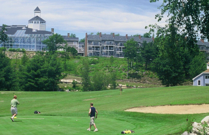 Golf at Steele Hill Resorts.