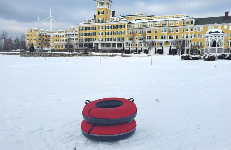 Snow tubing at Mountain View Grand Resort & Spa.