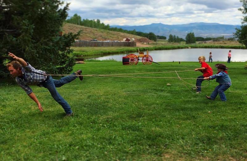 Fun at Latigo Ranch