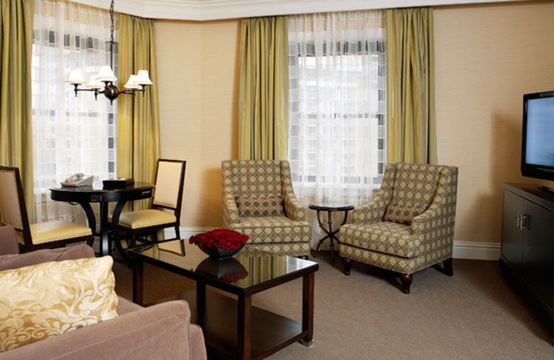 Guest room at The Raphael Hotel, Autograph Collection.