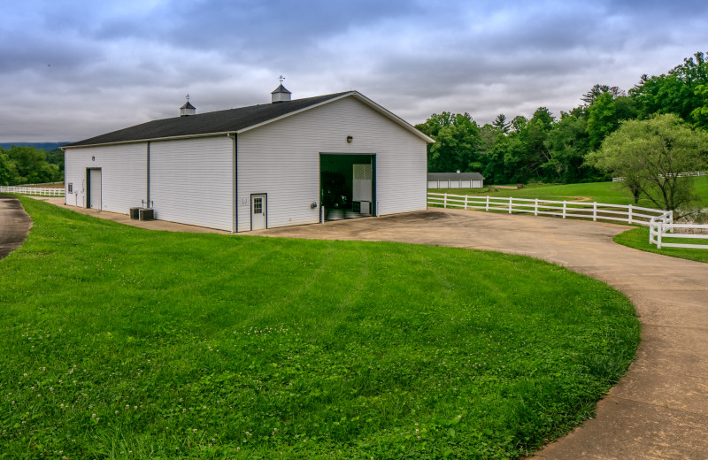 The Big Sky Barn (Event Space) at The Horse Shoe Farm