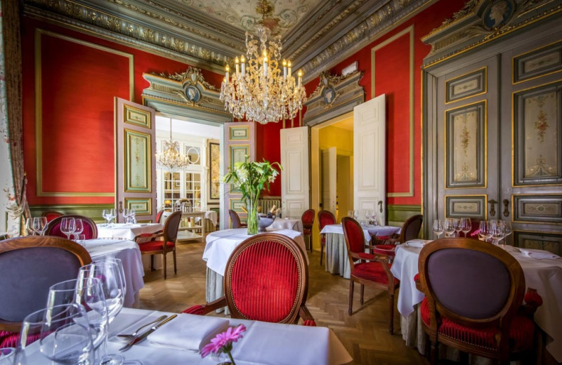 Dining at Relais & Châteaux Hôtel Heritage.
