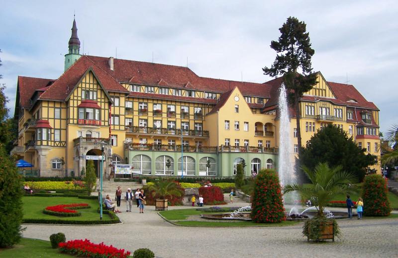 Exterior view of Kudowa Zdrój.