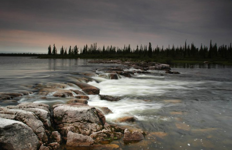 Scenic view at Plummer's Arctic Fishing Lodges.