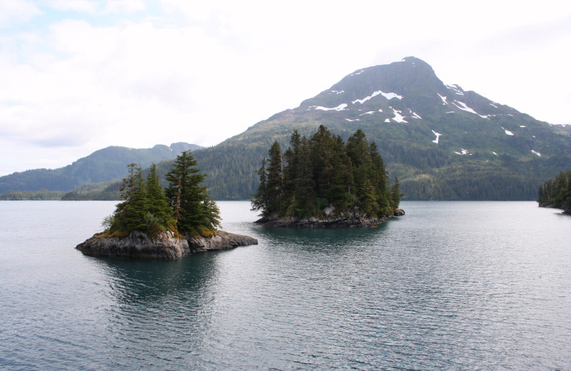 Lake near Soldotna B&B Lodge and Alaska Fishing Charters.