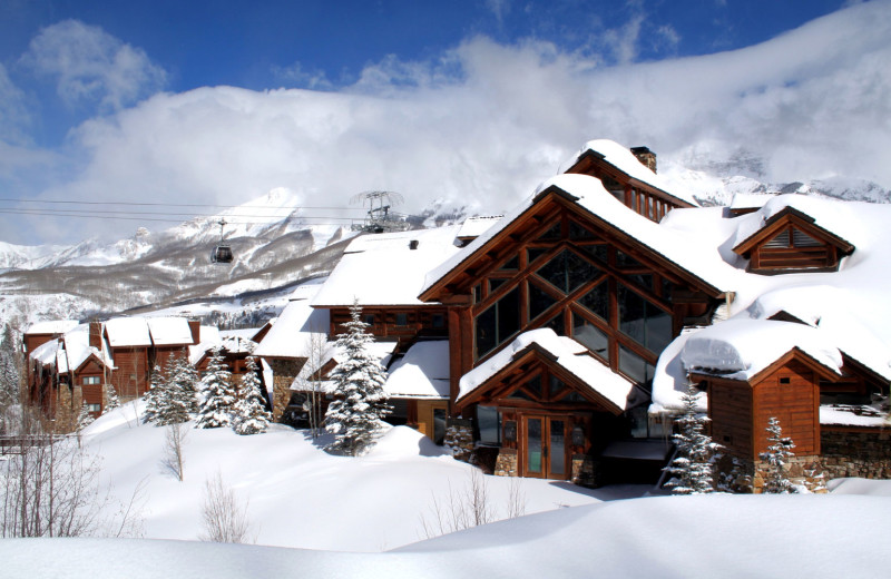 Winter at Mountain Lodge Telluride.