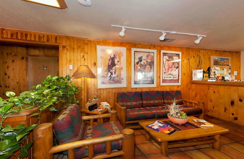 Lobby view at Redstone Inn.