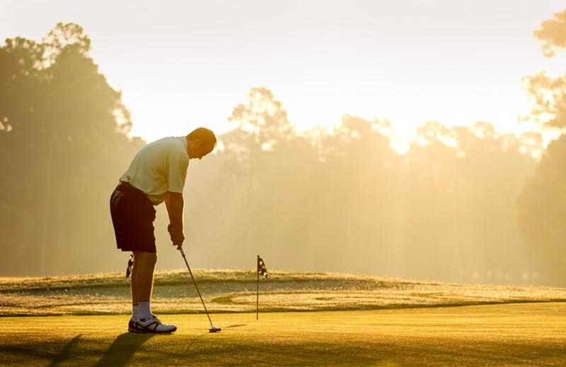 Golf course at Lake Blackshear Resort & Golf Club.