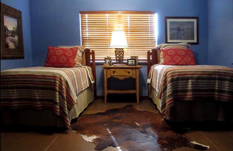 Guest room at Kothmann Creek Inn.