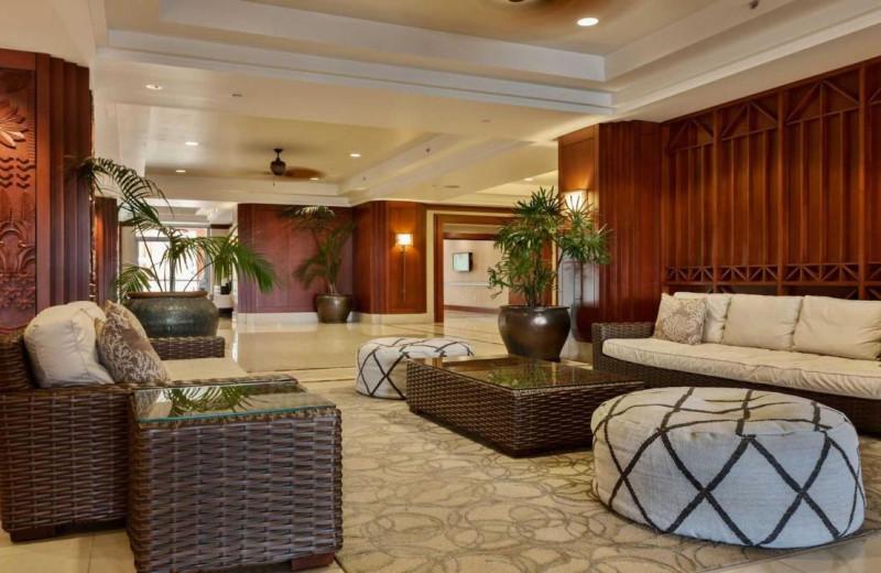 Lobby at Honua Kai Resort & Spa.