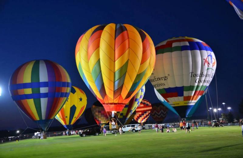 Balloons at Gulf Shores Rentals.